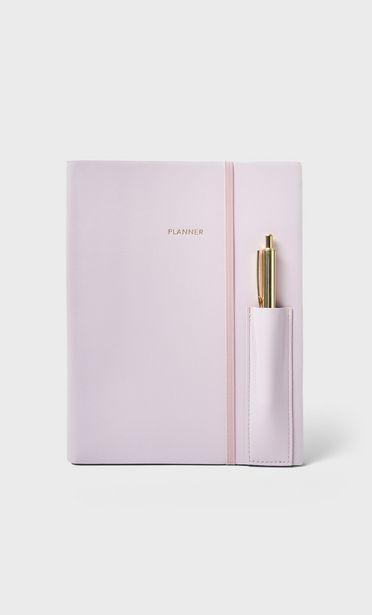 Terminkalender mit Kugelschreiber für 17,99€