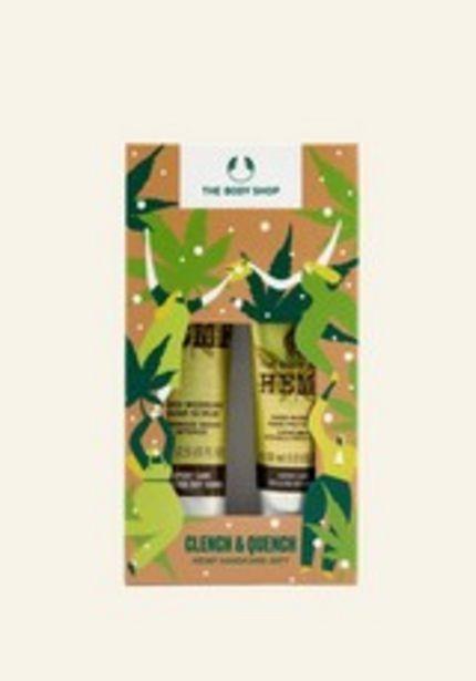 Clench & Quench Hemp Hand Care Geschenkset für 14€