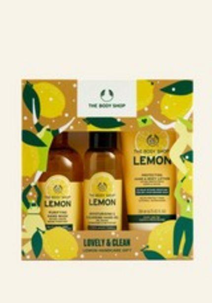 Lovely & Clean Lemon Hand Care Geschenkset für 24€
