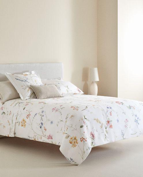 Bettbezug Mit Bunten Blumen für 49,99€