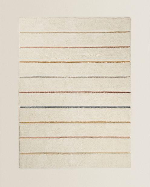 Teppich Mit Bunten Streifen für 69,99€