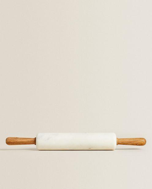 Teigroller Aus Marmor Und Holz für 45,99€