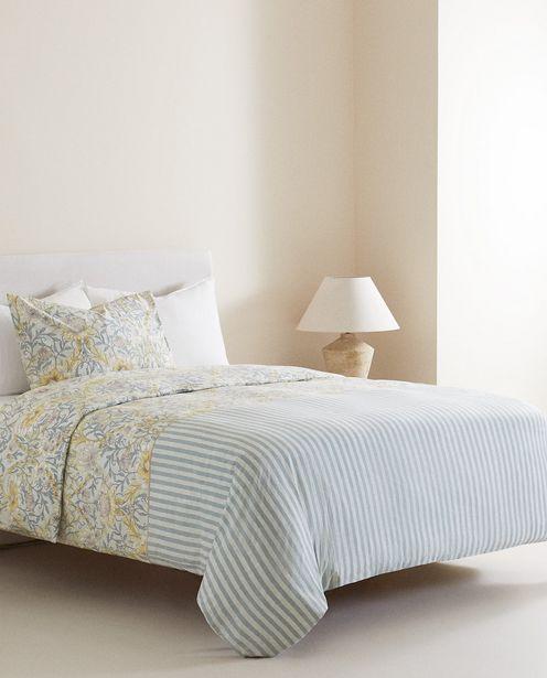 Bettbezug Mit Blumen- Und Streifenprint für 45,99€