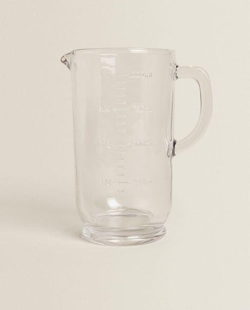 Messkrug Aus Glas für 22,99€