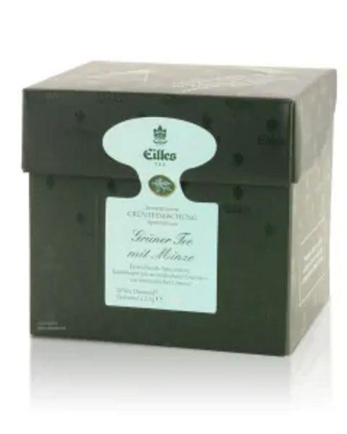 Tea Diamonds GRÜNER TEE MIT MINZE von Eilles, 20er Box für 6,99€