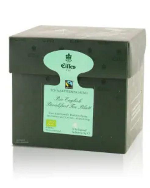 Tea Diamonds Bio English Breakfast Tea Blatt von Eilles, 20er Box für 8,99€