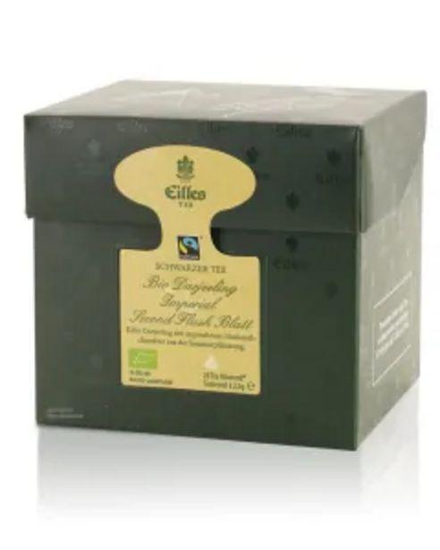 Tea Diamonds Bio Darjeeling Imperial Second Flush Blatt von Eilles, 20er Box für 8,99€