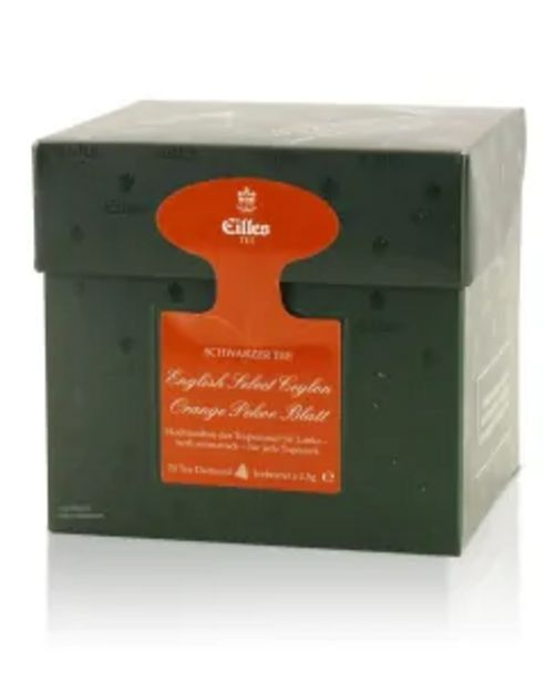 Tea Diamonds English Select Ceylon Orange Pekoe Blatt von Eilles, 20er Box für 6,99€