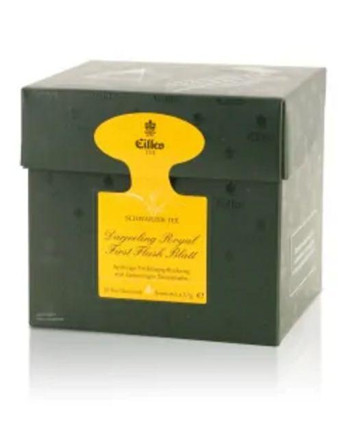 Tea Diamonds DARJEELING ROYAL FIRST FLUSH Blatt von Eilles, 20er Box für 6,99€