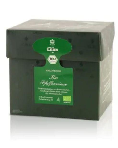 Tea Diamonds BIO PFEFFERMINZE von Eilles, 20er Box für 8,99€