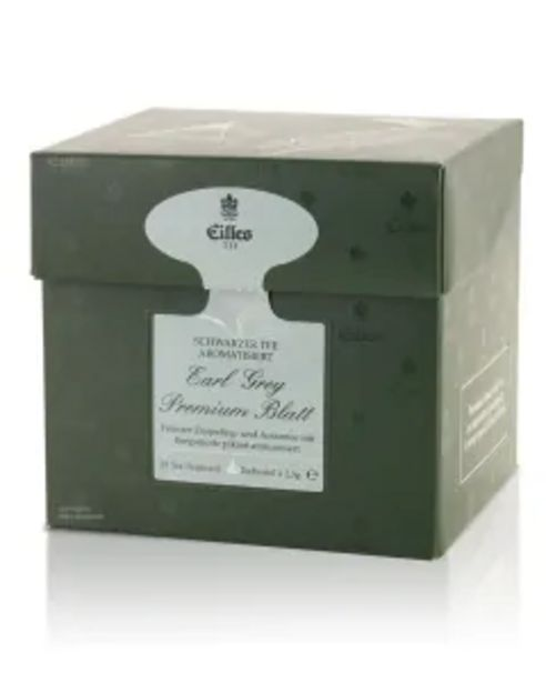 Tea Diamonds Earl Grey Premium Blatt von Eilles, 20er Box für 6,99€